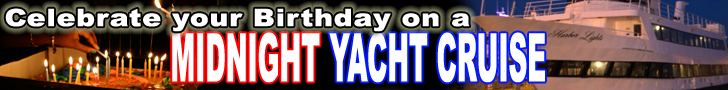 Birthday Packages - Midnight Cruises